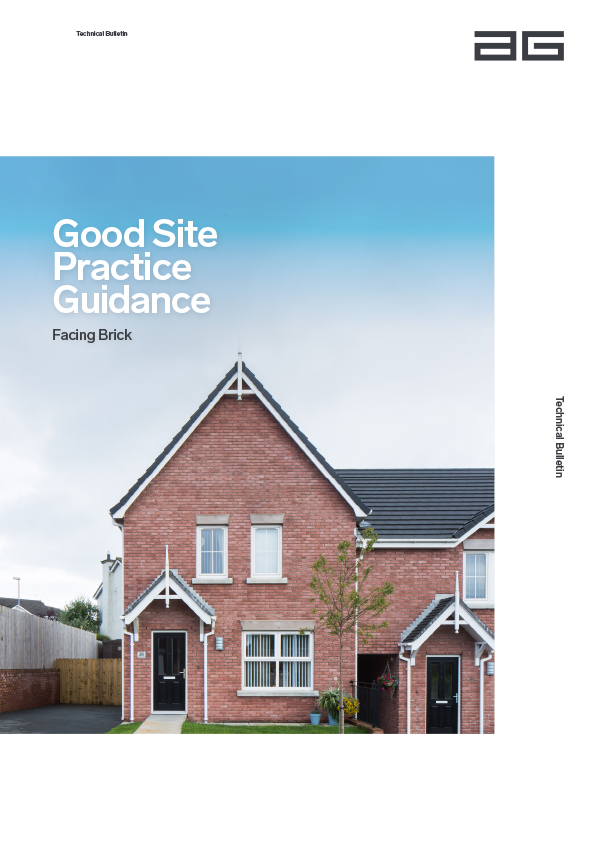 Associated image for the download: Facing Brick – Good Site Practice A4