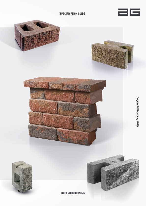 Associated image for the download: Segmental Retaining Walls Specification Guide