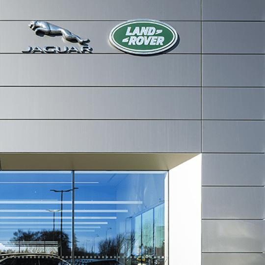 Jaguar Landrover Showroom, Dungannon featured image