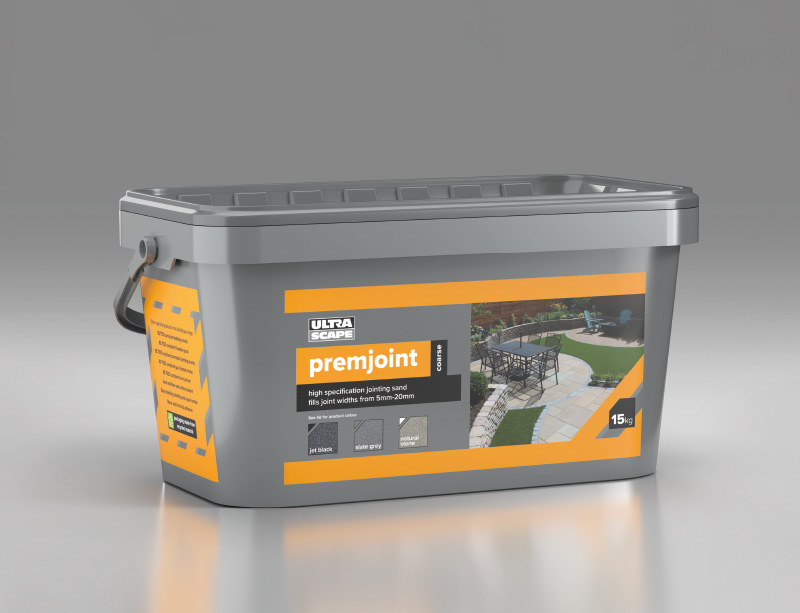 PremJoint Brush-in Jointing Grout in situ